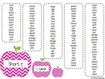 One Breath Boxes (Short Vowels)