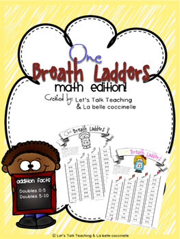 FREE One Breath Ladders: Doubles 0-5 and 5-10