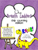 One Breath Ladders: Skip Counting by 2's, 5's and 10's (forwards and backwards)