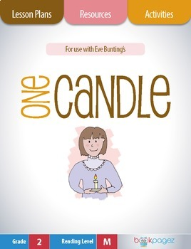 One Candle Lesson Plans & Activities Package, Second Grade (CCSS)