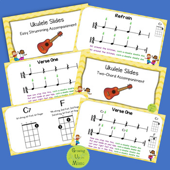 """One-Chord Ukulele Songs: """"All Around the Kitchen"""""""