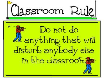 One Classroom Rule