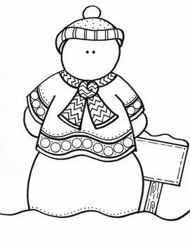 One Classy Snowman