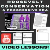 Progressive Conservation: Roosevelt, Muir, & Saving America's National Parks