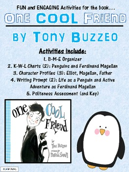 """""""One Cool Friend"""" Activity Packet"""
