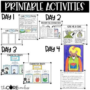 One Cool Friend: Interactive Read-Aloud Lesson Plans and Activities