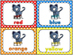 One Cool and Colorful Kitty Math and Literacy Centers for