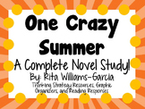 One Crazy Summer - A Complete Novel Study!