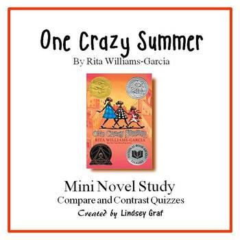 One Crazy Summer- Mini Novel Study