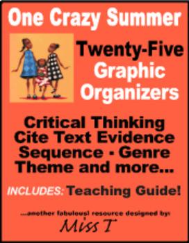One Crazy Summer - Graphic Organizers