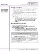 One Crazy Summer Lesson Plan, (Book Club Format - Point of View) (CCSS)