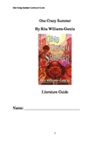 One Crazy Summer Literature Guide