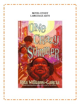 One Crazy Summer Novel Study