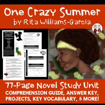 One Crazy Summer Novel Unit