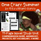 One Crazy Summer Novel Unit