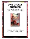 One Crazy Summer by Rita Williams-Garcia Literature Unit