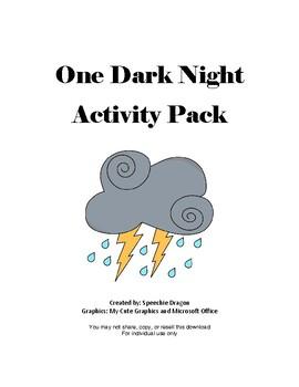 One Dark Night Activity Pack