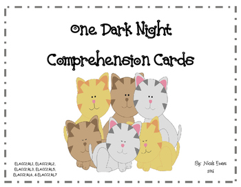 One Dark Night Comprehension Questions