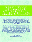 One Day Activity Packet for Elementary Art