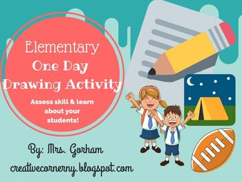 One Day Drawing Activity