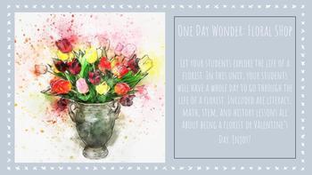 One Day Wonder: Floral Shop (Valentine's Day)