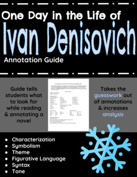 One Day in the Life of Ivan Denisovich Annotation Guide