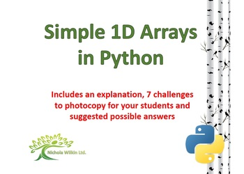 One-Dimensional Arrays in Python
