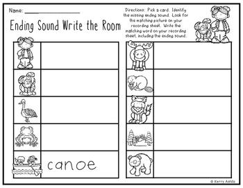 One Dog Canoe Write the Room