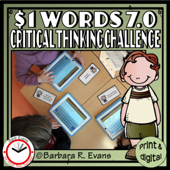 CRITICAL THINKING: One Dollar Words Bundle II