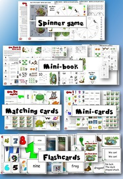 One Duck Stuck - Activity Pack - Crafts and activities for language learning