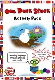 One Duck Stuck - Activity Pack - Crafts and activities for