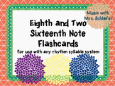 One Eighth Note and Two Sixteenth Note (ti-tika) Flashcards