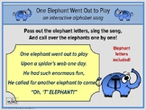 One Elephant Went Out to Play, Alphabet Song, Music and Movement Activity
