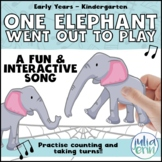 One Elephant Went Out to Play - Circle Time, Puppets, Counting, Songs