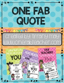 One Fab Quote