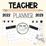 One Fab Teacher Lesson Plan Planner Editable 2021-2022