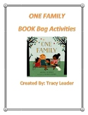 One Family- BOOK Bag Activities
