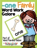 ~One Family Word Family Work Galore-Differentiated and Aligned