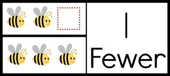 """One Fewer"" and ""Two Fewer""- enVision Math Vocabulary Cards"