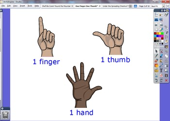 One Finger, One Thumb - Visual