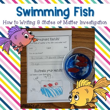 One Fish, Blue Fish {Science Inspired by Seuss: States of Matter}
