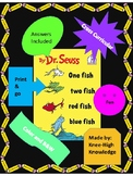 One Fish Two Fish Book Activities