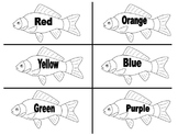 One Fish, Two Fish Color Word Matching