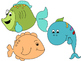 One Fish, Two Fish:  Counting Fish and Colors Game