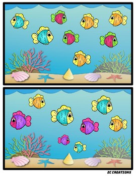 One Fish, Two Fish (Counting and Comparing)