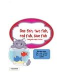 One Fish Two Fish Emergent Reader / Writer Mini-Book