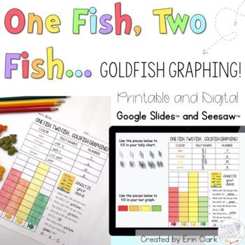 One Fish, Two Fish... GOLDFISH GRAPHING!