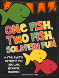 One Fish, Two Fish Goldfish Fun {A Math Mini-Book to Use With Goldfish Crackers}