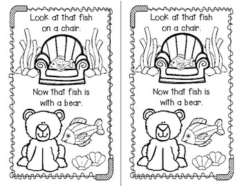 One Fish Two Fish How Do You Do, Fish? A FREE Suess Inspired Emergent Reader