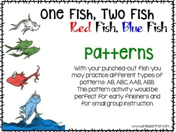 One Fish, Many Fish Math Practice